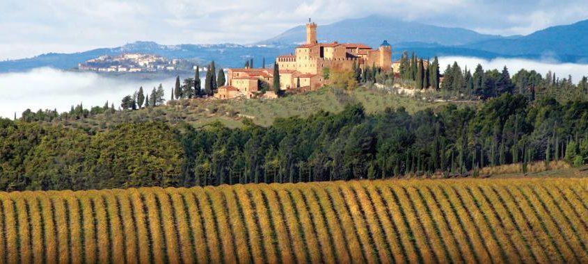 Brunelloa di Montalcino Vineyards, Tuscany