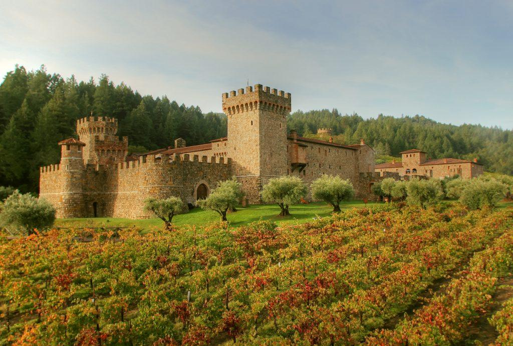 worlds most beautiful vineyards | Castello di Amorosa, Napa Valley
