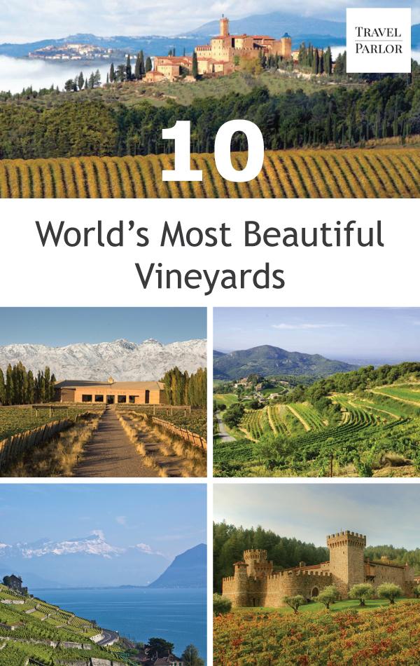 worlds most beautiful vineyards | 10 World's Most Beautiful Vineyards