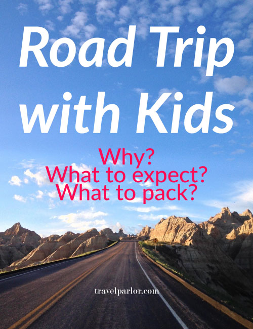 Road trip with kids: toddlers and babies. Tips and packing list.